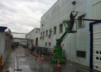 Nettoyage façades 1 Avant