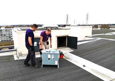 Mise en place d'un extracteur VMC